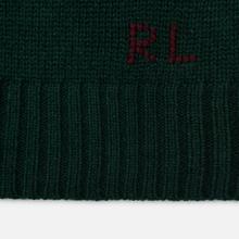 Мужской свитер Polo Ralph Lauren Preppy Bear Wool Blend Forrest Green фото- 4