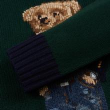 Мужской свитер Polo Ralph Lauren Preppy Bear Wool Blend Forrest Green фото- 3