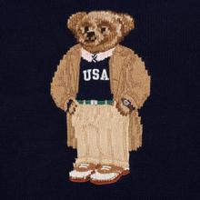 Мужской свитер Polo Ralph Lauren USA Polo Bear Wool Blend Navy фото- 2