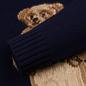 Мужской свитер Polo Ralph Lauren USA Polo Bear Wool Blend Navy фото - 3