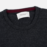 Мужской свитер Pringle of Scotland Contrast Crew Neck Charcoal фото- 1