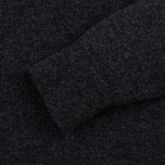 Мужской свитер Pringle of Scotland Contrast V Neck Charcoal фото- 2