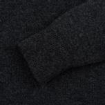 Pringle of Scotland Contrast V Neck Men's Sweater Charcoal photo- 2