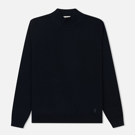Мужской свитер Pringle of Scotland High Neck Merino Wool Navy