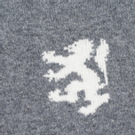Мужской свитер Pringle of Scotland Lion Intarsia Crew Neck Grey Melan фото- 2