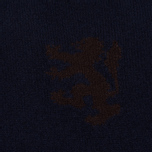 Pringle of Scotland Lion Intarsia Crew Neck Men's Sweater Navy photo- 3