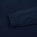 Мужской свитер Pringle of Scotland Pique Trim Round Neck Navy фото- 2