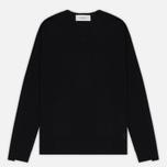 Мужской свитер Pringle of Scotland Rib Trim V-Neck Black фото- 0