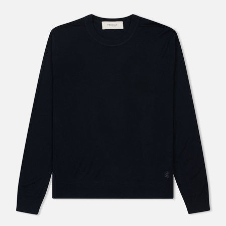 Мужской свитер Pringle of Scotland Round Neck Merino Wool Navy