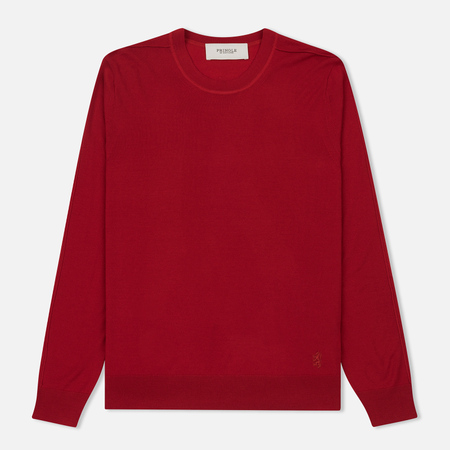 Мужской свитер Pringle of Scotland Round Neck Merino Wool Red