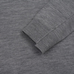 Мужской свитер Pringle of Scotland Round Neck Ribbed Trim Grey фото- 2
