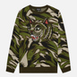 Мужской свитер RIPNDIP Tiger Nerm Green Camo фото - 0