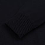 Мужской свитер Stone Island Brushed Cotton Knit Navy Blue фото- 3