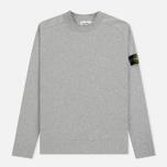 Мужской свитер Stone Island Classic Crew Neck Cotton Dust Grey фото- 0