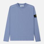 Мужской свитер Stone Island Classic Crew Neck Cotton Lavender фото- 0