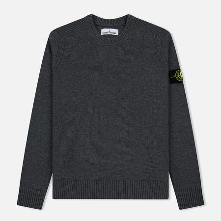 Мужской свитер Stone Island Classic Lightweight Wool Grey