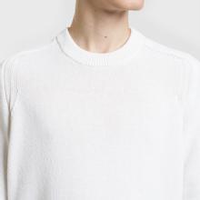 Мужской свитер Stone Island Classic Lightweight Wool Natural White фото- 2