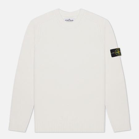 Мужской свитер Stone Island Classic Lightweight Wool Natural White