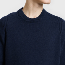 Мужской свитер Stone Island Classic Lightweight Wool Navy фото- 2