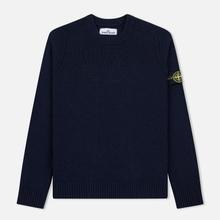 Мужской свитер Stone Island Classic Lightweight Wool Navy фото- 0