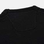 Мужской свитер Stone Island Crew Neck Brushed Cotton Black фото- 3