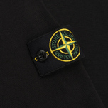 Мужской свитер Stone Island Crew Neck Brushed Cotton Black фото- 4