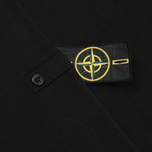 Мужской свитер Stone Island Crew Neck Brushed Cotton Black фото- 5