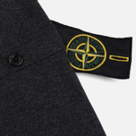 Мужской свитер Stone Island Crew Neck Brushed Cotton Grey фото- 3