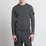 Мужской свитер Stone Island Crew Neck Knit Grey фото- 5
