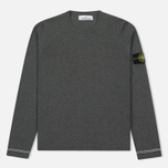 Мужской свитер Stone Island Crew Neck Knit Grey фото- 0