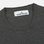 Мужской свитер Stone Island Crew Neck Knit Grey фото- 1