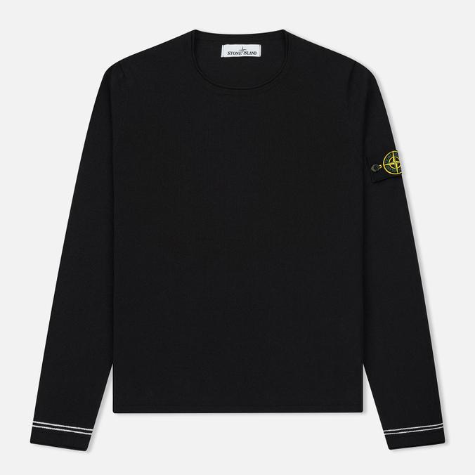 Мужской свитер Stone Island Crew Neck Knit Navy
