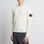 Мужской свитер Stone Island Crew Neck Knit White фото- 5