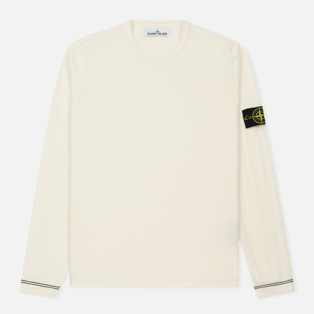 Мужской свитер Stone Island Crew Neck Knit White