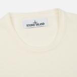 Мужской свитер Stone Island Crew Neck Knit White фото- 1