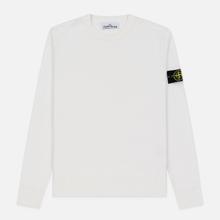 Мужской свитер Stone Island Crew Neck Lightweight Wool Natural White фото- 0