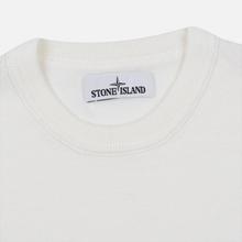 Мужской свитер Stone Island Crew Neck Lightweight Wool Natural White фото- 1