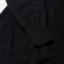 Мужской свитер Stone Island Crew Neck Smooth Cotton Black фото- 3
