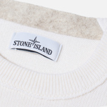 Stone Island Crew Neck Men's Sweater White photo- 2