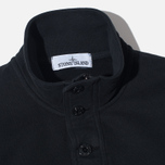 Stone Island Double Button Zip Men's Sweater Black photo- 1
