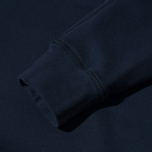 Мужской свитер Stone Island Double Button Zip Navy фото- 4