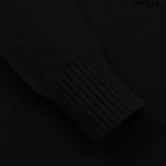 Мужской свитер Stone Island Double Button Zip Wool Black фото- 3