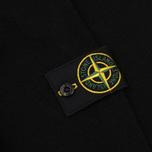 Мужской свитер Stone Island Double Button Zip Wool Black фото- 4