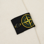 Мужской свитер Stone Island Double Button Zip Wool Cream White фото- 4