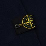 Мужской свитер Stone Island Double Button Zip Wool Navy фото- 4