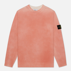 Мужской свитер Stone Island Hand Sprayed Treatment Orange Red