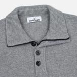 Stone Island High Men's sweater Collar Grey photo- 1