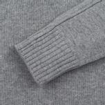 Stone Island High Men's sweater Collar Grey photo- 3