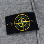 Мужской свитер Stone Island High Collar Grey фото- 2
