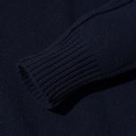 Мужской свитер Stone Island High Collar Navy фото- 4